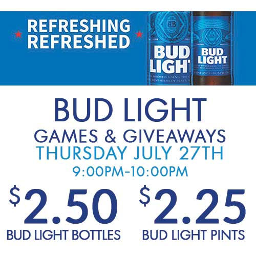 Bud Light Games & Giveaways