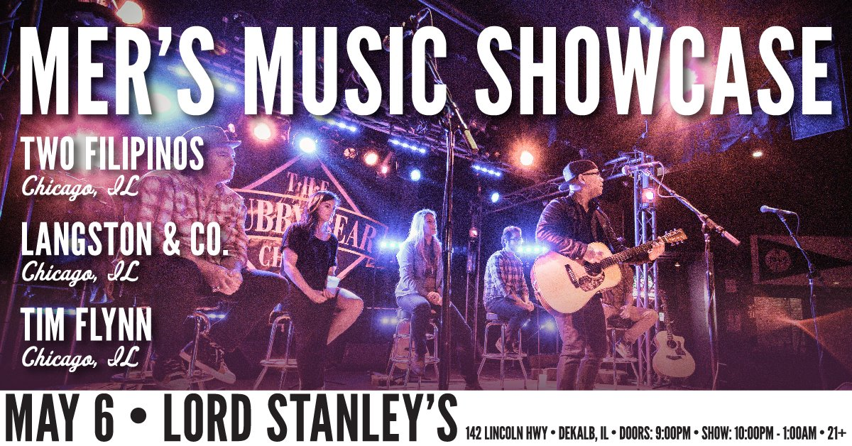 Mer's Music Showcase Coming to Stanley's!